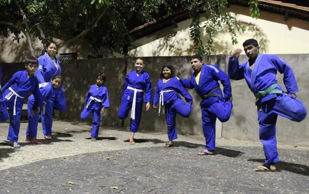 JUDÔ sem teto (Foto: Renan Morais/GLOBOESPORTE.COM)