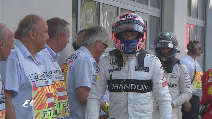 Jenson Button foi um dos destaques do treino classificatório para o GP da Áustria (Foto: Divulgação)