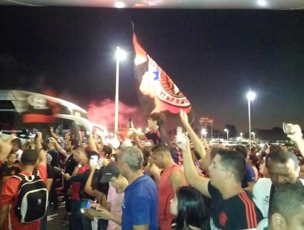 Flamengo desembarca em Cuiabá