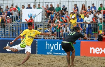 Brasil passa fácil pelo México e decide o título do Mundialito neste domingo