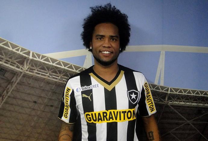 Carlos Alberto Apresentação Botafogo (Foto: Divulgação)