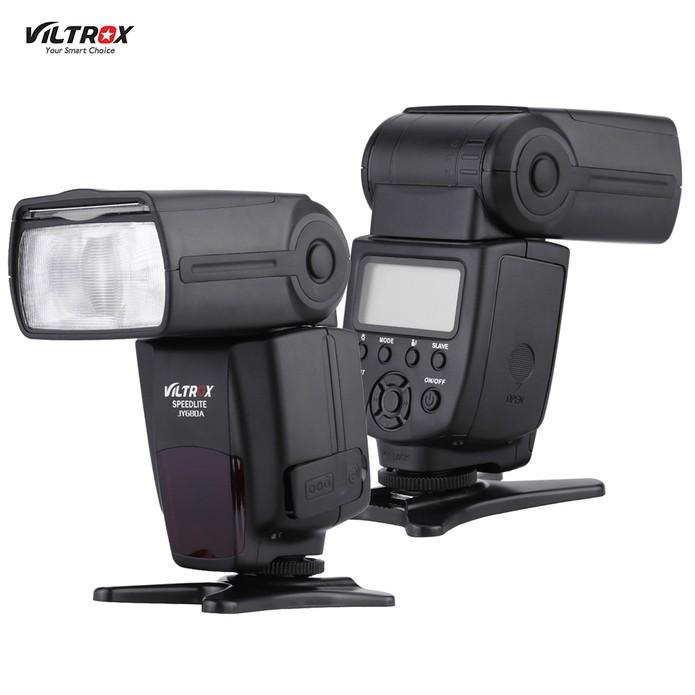 O mais barato dos modelos listados, o modelo é compatível com câmeras Canon e Nikon (Foto: Divulgação/Viltrox)
