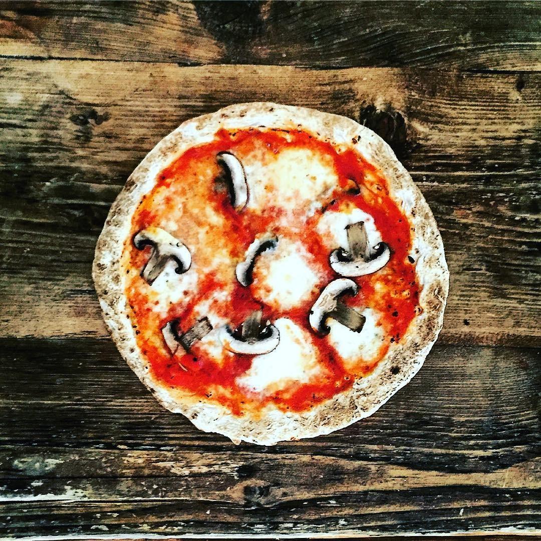 A pizza que deu início ao One Pound Meal (Foto: Reprodução/Instagram)