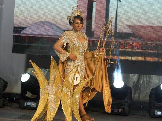 A estudante também foi Miss T Distrito Federal (Foto: Divulgação)