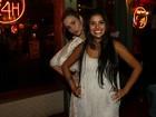 Munik deixa festa de ex-BBBs para comemorar vitória com Ana Paula