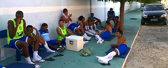 Jogo atrasa 1h45 por ausência da equipe de arbitragem (Divulgação/Parnahyba)