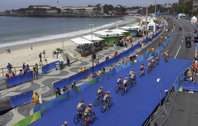 Triatlo Copacabana (Foto: Reuters)