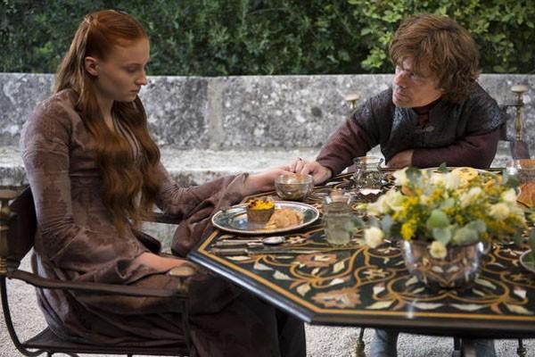 Sansa Stark e Tyrion Lannister (Foto: Divulgação)