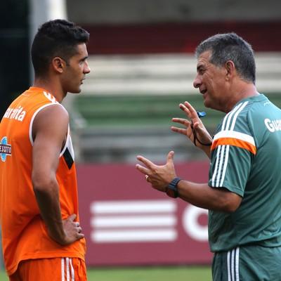 Giovanni e Drubscky Fluminense (Foto: Nelson Perez/ Fluminense FC)