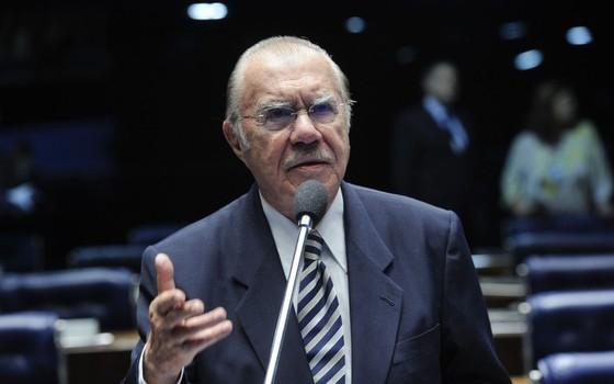 José Sarney em foto de maio de 2013 (Foto: Pedro França/Agência Senado)