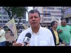 Cláudio Leitão faz encontro com eleitores no centro de Cabo Frio, RJ