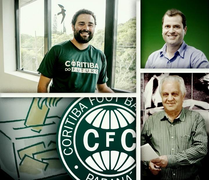 carrossel candidatos à presidência do Coritiba
