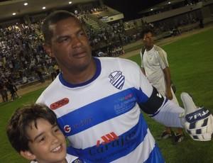 Flávio ainda se destaca no CSA (Foto: Paulo Lira/Notícia na Mira)