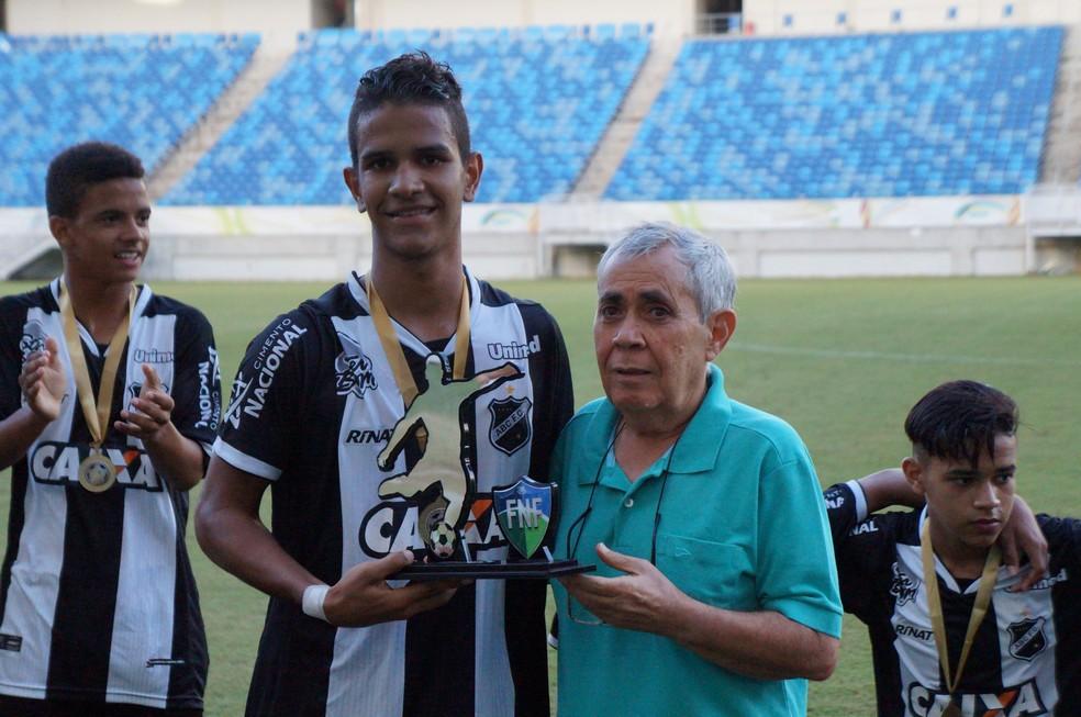 Roniel, atacante do ABC (Foto: Augusto Gomes/GloboEsporte.com)