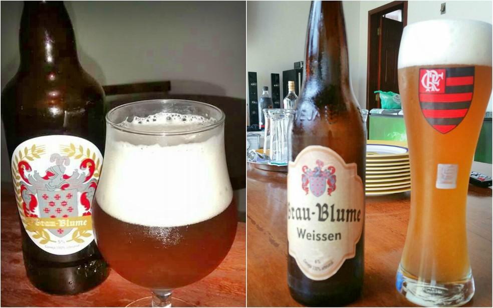 Paranaense produz a própria cerveja há em torno de seis anos (Foto: Arquivo pessoal)