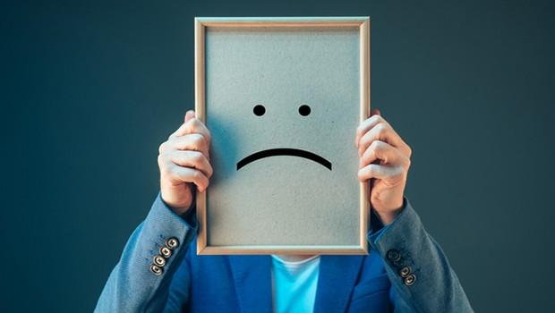 Carreira ; infelicidade ; não estar satisfeito no trabalho ; pessimista ; pessimismo ;  (Foto: Shutterstock)