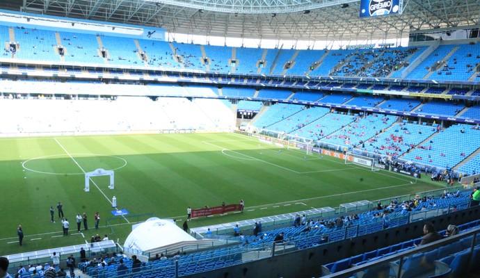 Arena para Grêmio x Chapecoense (Foto: Eduardo Moura)