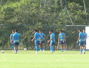 Botafogo treino Pinheiral (Foto: Thales Soares)