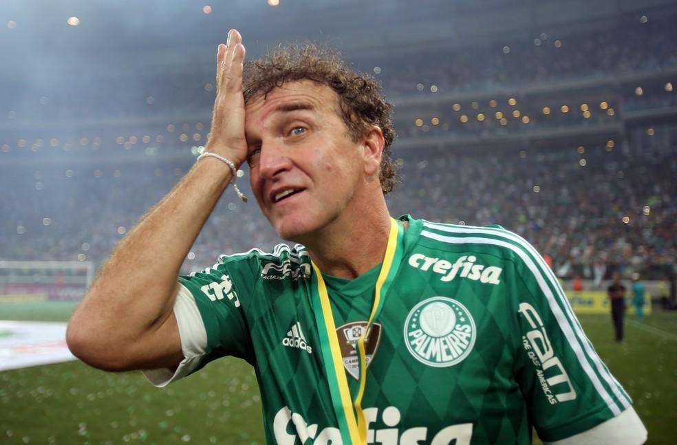 Cuca não sai da cabeça da torcida desde a conquista do título brasileiro do ano passado (Foto: Agência Estado)