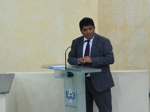 Estudo foi apresentado pelo Ciodes na Assembleia Legislativa  (Foto: Fabiana Figueiredo/G1)