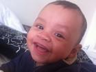 Simony se derrete pelo filho caçula: 'Olha esse sorriso'