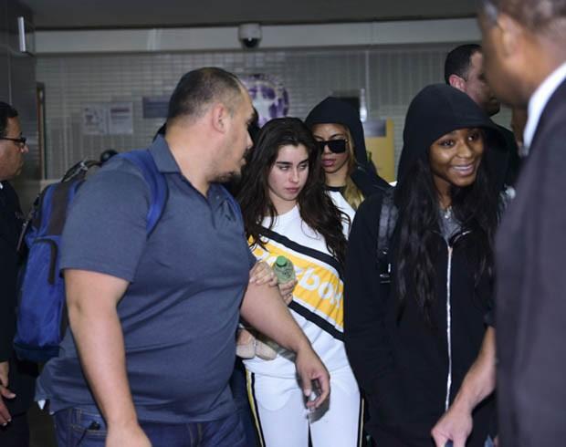 Lauren Jauregui, Dinah James e Normani Kordei, (Foto: Leo Franco/ AgNews)