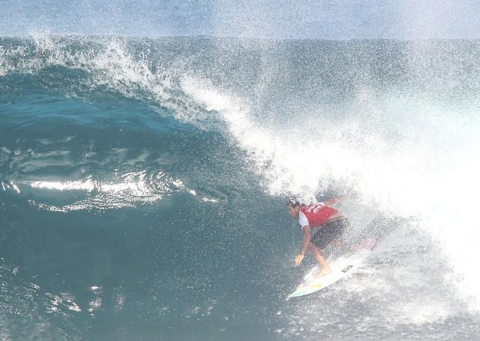 Adriano de Souza Mineirinho - etapa 11 circuito mundial de surfe pipeline havaí (Foto: Márcio Fernandes/Estadão)