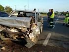 Quatro pessoas ficam feridas em acidente na BR-101 em Campos, RJ