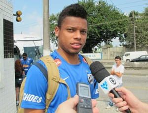 Andr&#233; desembarque santos (Foto: Lincoln Chaves / Globoesporte.com)