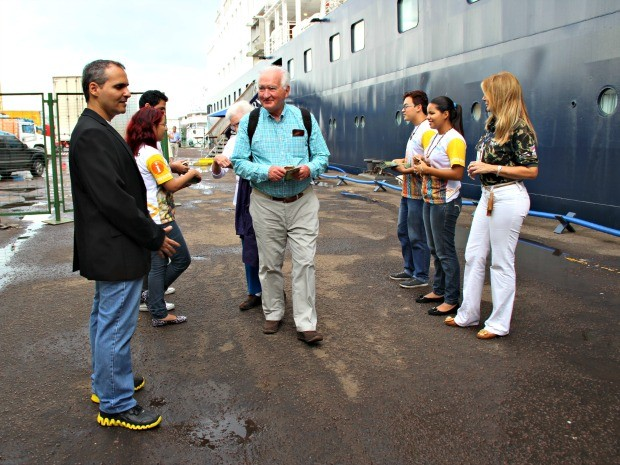 Até fim da temporada 17 mil turistas terão passado por Manaus (Foto: Adneison Severiano/G1 AM)