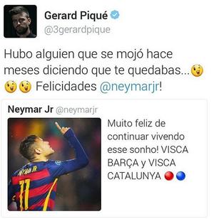 Pique renovacao Neymar (Foto: Reprodução)