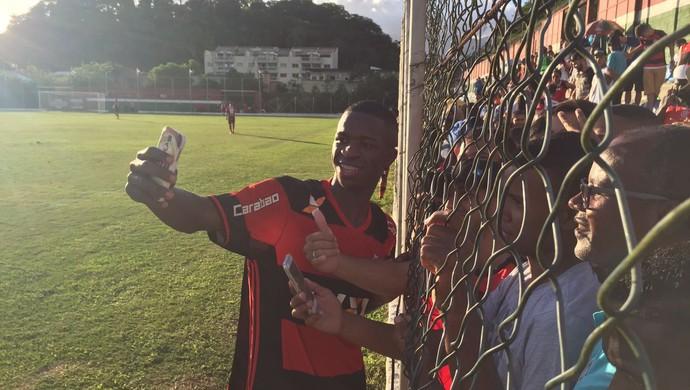 Vinicius Junior Flamengo x Fluminense sub-20 (Foto: Raphael Zarko)