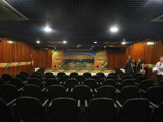 Centro de Mídia conta com sala para coletiva de imprensa (Foto: Karla Vieira/Semcom)