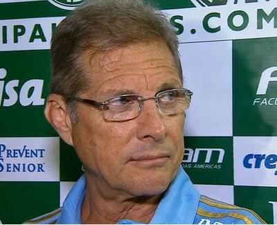 Oswaldo de Oliveira Palmeiras (Foto: reprodução)