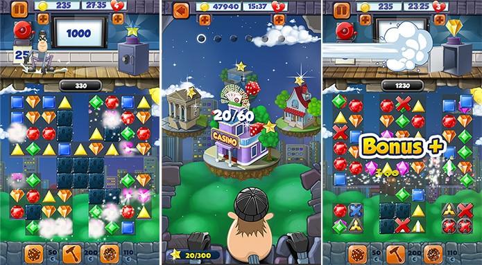 Jewel Blast Saga reúne bons gráficos e uma integração com o Facebook (Foto: Divulgação/Windows Phone Store)