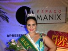 Com 82 kg e 1,77 m, cearense  eleita miss Plus Size do Nordeste