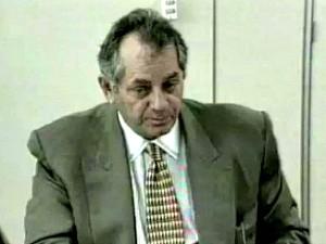 Orleir Cameli, em 1996, como governador do Acre (Foto: Reprodução/TVAM)