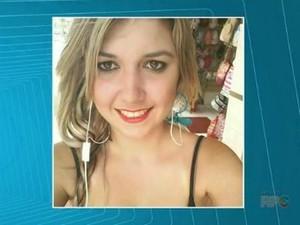 Jovem de 19 anos foi encontrada morta em um matagal (Foto: Reprodução/RPC)