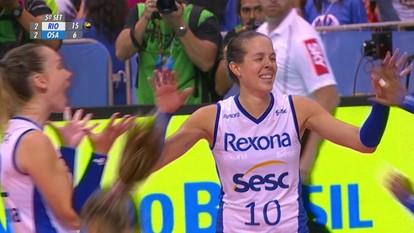 Melhores momentos: Rio de Janeiro 3 x 2 Osasco pela final da Superliga feminina de vôlei