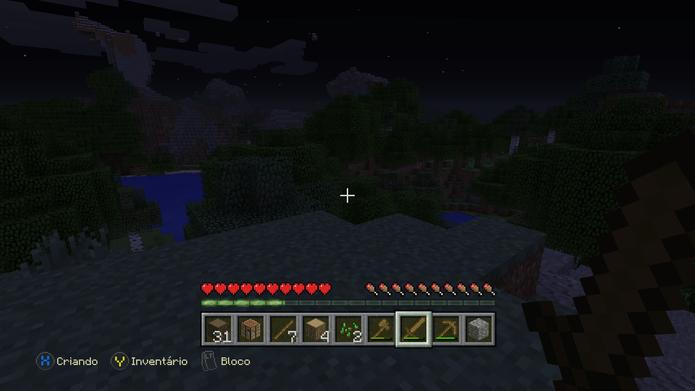 Ataque inimigos hostis em Minecraft (Foto: Reprodução/Murilo Molina)