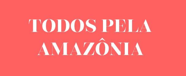 #TodospelaAmazônia (Foto: Reprodução)