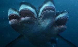 Ataque do Tubarão de Cinco Cabeças