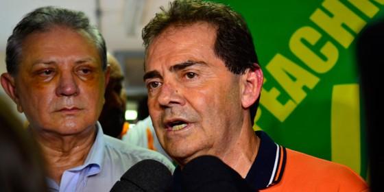 O deputado Paulinho da Força (SD-SP) em ato pelo impeachment em São Paulo, no dia 8 (Foto: Rovena Rosa/ABr)