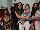 Daniela Albuquerque sobre Luciana Gimenez: 'É uma mãe maravilhosa'