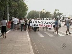 Caso Ana Karina teve grande repercussão no estado. (Foto: Reprodução/TV Liberal)