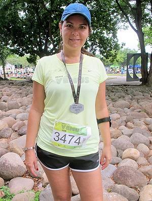 Patrícia Rodrigues corrida Eu Atleta Circuito Vênus  (Foto: Patricia Palhares / Globoesporte.com)