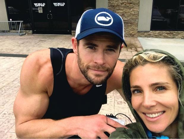 Chris Hemsworth e Elsa Pataky (Foto: Reprodução Instagram)