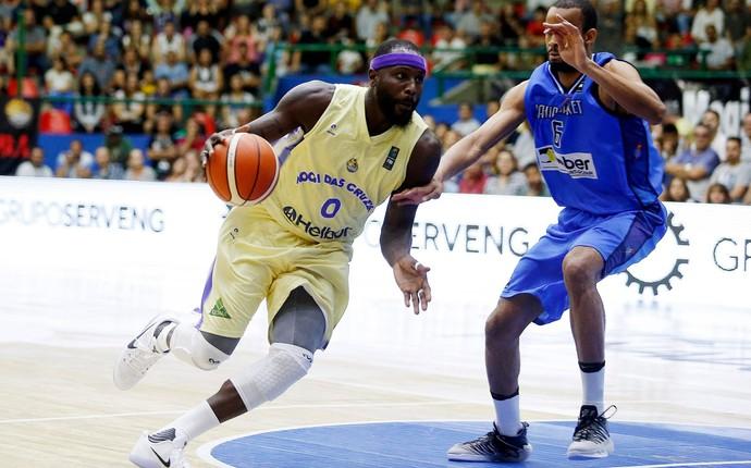 Mogi das Cruzes x Bahía Basket jogo 2 final Liga Sul-Americana de Basquete (Foto: Gaspar Nóbrega)