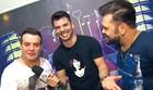 Jonas Almeida entrevista Marcos & Belutti (Reprodução/ Vanguarda)