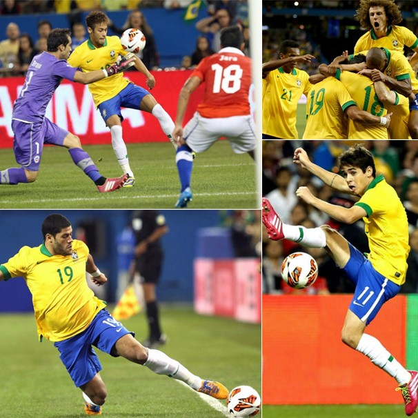 Reserve a tarde de quarta-feira, dia 4, para torcer pela Seleção Brasileira, que enfrenta a África do Sul em seu último amistoso antes da convocação final para a Copa (Foto: Mowa Press)